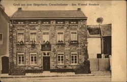 Gruss aus dem Sangerheim Cornelimunster - Bes. Winard Methuen