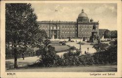 Lustgarten und Schloss