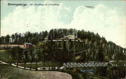 Riesengebirge. Der Hausberg bei Hirschberg