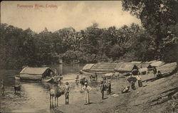 Ratnapura River, Ceylon