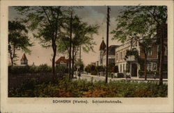SCHWERIN (Warthe) Schlachthofstrasse