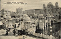 Bridge in Court of Honor, Franco-British Exhibition 1908
