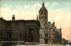 County Buildings & Courthouse Wakefield.
