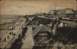 West Cliff and Parade