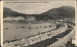 Enseada de Botafogo, em Dia de Regatas