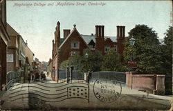 Magdalene College and Magdalene Street