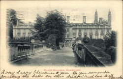 View of Clare College