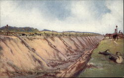 Tring Cutting In Course of Construction, 1837.