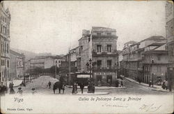 Calles de Policarpo Sanz y Principe