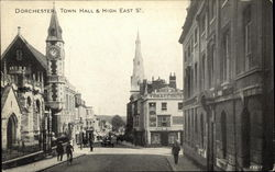 Dorchester, Town Hall & High Esat St.