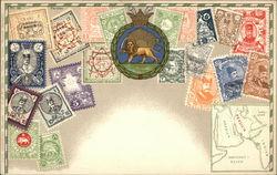 Persian Stamps - Iran