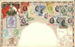 Stamps of Hong Kong