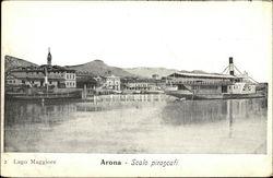 Scalo Piroscafi, Lago Maggiore