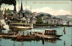 Dampfer am Schweizerhofquai