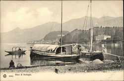 Boats at Shoreline - Lake Como