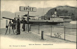 Steamer on Lake Thun
