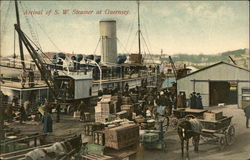 Arrival of S. W. Steamer at Guernsey