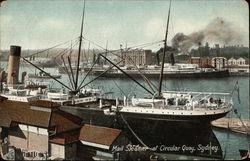 Mail Steamer at Circular Quay