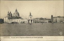 Punta della Dogana e Entrata al Canal grande
