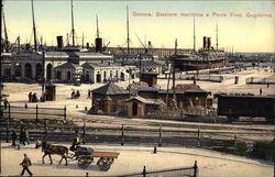 Stazione Marittima e Ponte Federico Guglielmo