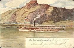 Rhine River Steamer