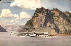 Rhine River - THe Lorelei and River Steamer