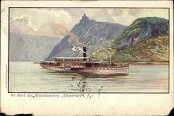 "Rhine Steamer ""Stolzenfels"""