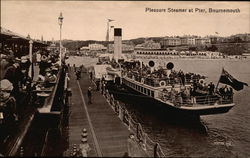 Pleasure Steamer at Pier