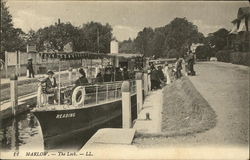 Boat on the Lock