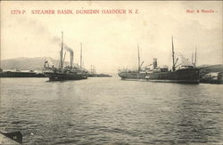 Steamer Basin in Harbour