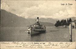Steam Boat, Lake Como