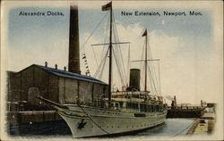 Alexandra Docks, New Extension, Newport, Mon.