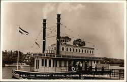 The Showboat, Festival Pleasure Gardens