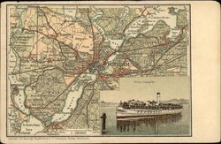 Map of Potsdam , Germany