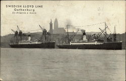S/s Britannia & Suecia, Swedish Lloyd Line
