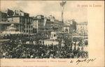 Inauguration of Monument to Vittorio Emanuele