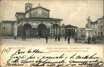 Statue and Theater of Giuseppe Giusti