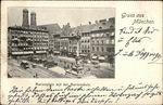 Marienplatz mit der Mariensaule