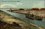 Panorama of the Suez Canal